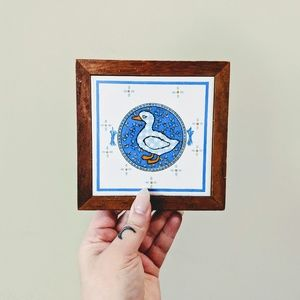 2 for $20 / Vintage Wooden Duck Wall Hanging
